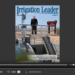 Screenshot of flipbook PDF reader for Irrigation Leader September 2011