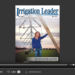 Screenshot of flipbook PDF reader for Irrigation Leader January 2013