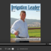 Screenshot of flipbook PDF reader for Irrigation Leader January 2014
