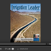 Screenshot of flipbook PDF reader for Irrigation Leader June 2014