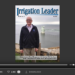 Screenshot of flipbook PDF reader for Irrigation Leader May 2015