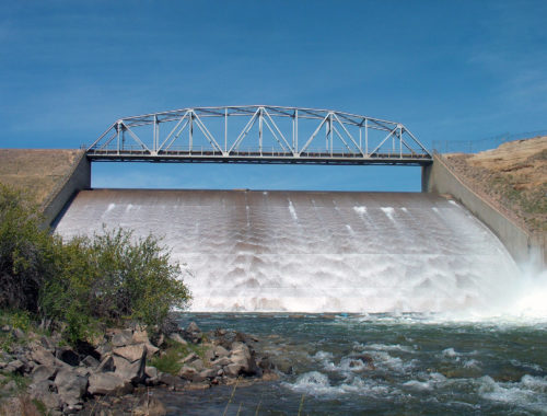 Photo of Fresno Dam on the Milk River