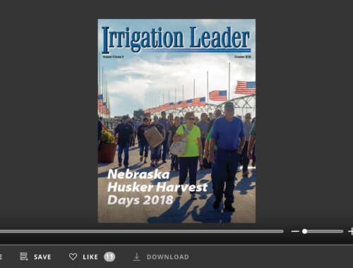 Irrigation Leader October 2018. Volume 9 Issue 9.