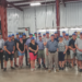 Group photo of the New Zealand tour group at the Agri-Inject facility in Yuma